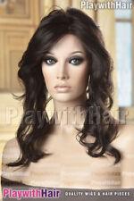 Top Hair Piece Filler Monofilament Premium Darkest Brown