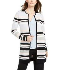 Calvin Klein Colorblocked Striped Cardigan