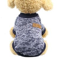 Haustier Dog Sweater Zweibeinige Warme Hundekleidung Hundewolle Haustierkleidung
