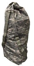 "LARGE ARMY DUFFELBAG HUNTING GEAR DUFFEL BAG Bags 42"" Inches ACU Digital Gray"