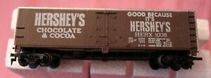 HO Scale Billboard Reefer 355B Tyco Hershey's Chocolate Cocoa HERX #1038 TFloor
