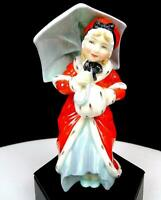 """ROYAL DOULTON ENGLAND #HN1936 MISS MUFFET RED COAT 5 1/4"""" FIGURINE 1940-1967"""