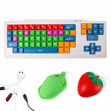 Colourful Kid / Childrens / Special Needs / Sight Impaired Keyboard & Mouse