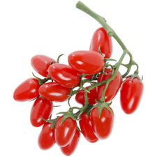 """Artificial Cherry Tomatoes on VineRed Plastic - 8"""" L"""
