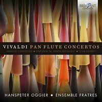 Hanspeter Oggier - Vivaldi: Pan Flute Concertos [CD]