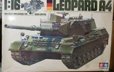 Tamiya 1/16 Leopard A4  complete partially built  very very nice RC Tank