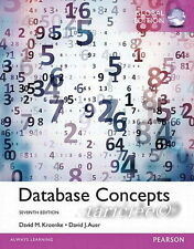 NEW 3 Days to AUS Database Concepts 7E David M. Kroenke David J Auer 7th Edition