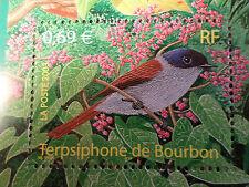 FRANCE 2003, timbre 3551, OISEAUX, TERPSIPHONE DE BOURBON, neuf**, MNH BIRDS
