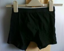 Lads Mens Trunks with Opening Black Gym Sport Workout