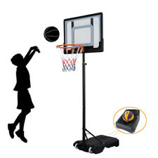 Adjustable Basketball Hoop Goal Stand Backboard Kids Portable Indoor Outdoor Us