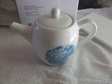 théière en porcelaine décor bleu chinois, neuve, Thé de la pagode