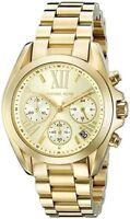 MICHAEL KORS MK5798 Bradshaw Chronograph Gold Tone Ladies Wrist Watch USA