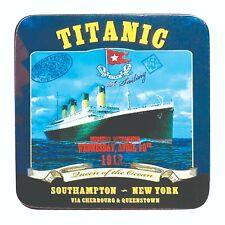 Titanic Southampton Blue Collectors Coaster (sg)