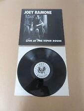 JOEY RAMONE & THE 22 JACKS Live At The Viper Room 1997 LP RARE ORIGINAL RAMONES