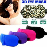 3D Eye Sleeping Mask For Travel Soft Cover Blinder Blindfold Shade Resting Aid