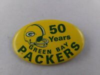 Vintage 1969 Green Bay Packers 50 years pin pinback button football RARE **FF