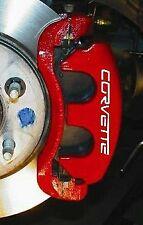 Corvette  High Temp Caliper Brake Decal Sticker Set Of 8