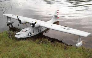 "PBY Catalina Seaplane 80"" WS PDF File USB RC Airplane PLANS & TEMPLATES"