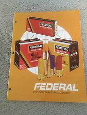 Federal Ammunition CATALOG  and price sheets 1970
