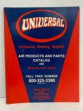 Universal Sewing Supply Air Products And Parts Catalog 400 *Free Shipping*
