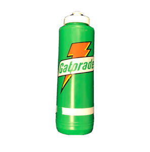 Vintage 1985 Green Plastic GATORADE Sports Drink Squirt Water Bottle.