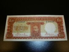 Australian 10 Pound Riddle/Sheehan 1934 EF / George the 5th