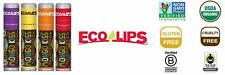 Eco Lips Mongo Kiss Mongongo Oil Lip Balm with Beeswax and Cocoa Butter,...