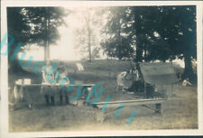 More details for girl guides outdoor kitchen  camp waddow lancashire 1941 3.25 x 2.25 inches