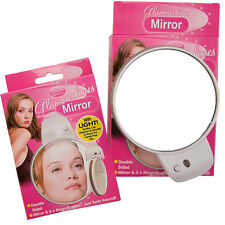 Magnifying Make Up Mirror Bathroom 3x Compact Double Sided Shaving Purse Pocket