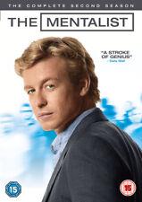 The Mentalist Season 2 (DVD) Simon Baker, Robin Tunney