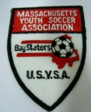 Massachusetts Youth Soccer Assoc.- Bay Staters- USYSA Embroiderd Patch 4""