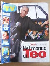 TV Sorrisi e Canzoni n°18 2002 Monica Bellucci Teo Teocoli Ligabue  [D53]