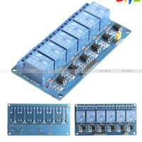6 Channel DC 3V Relay Module Expansion Board Optocoupler Insulation for Arduino