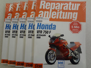 Reparaturanleitung, Werkstatt - Buch, HONDA VFR 750 F, RC36, ab 1990, Band 5130