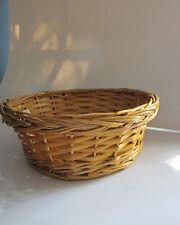 Natural Willow Basket From Burton & Burton. New.