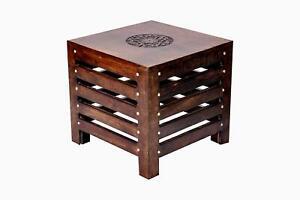 Wooden Beautiful Handmade Stool Chair Furniture