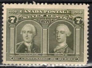 CANADA Scott 100 Mint Hinged ## 1 cent start ##