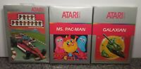 LOT OF THREE GAMES FOR ATARI 2600/5200/7800 BRAND NEW VINTAGE RARE NOS SEALED 31
