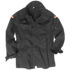 Mil-Tec BW German Army Moleskin Jacket Military Mens Security Cotton Black XL