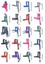 """HAMILTON® NYLON DOG HARNESS Choice of 7 colors & 3 Sizes for chests 9""""-22"""" NWT"""