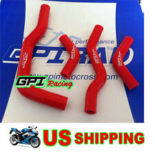 silicone radiator hose kit FOR Honda CRF450X 2005-2015 2011 2010 2009 2008 ,RED