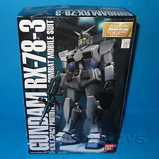 BANDAI MG MASTER GRADE GUNDAM RX-78-3 MOBILE SUIT SCALA 1/100 Model Kit BOXED