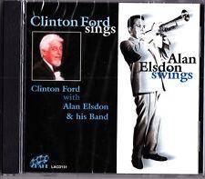Clinton Ford Sings & Alan Elsdon Swings CD (NEW 2001 Lake Jazz) Ron Drake et al