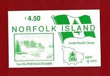 1993 Norfolk Island Buildings SG SB 4 booklet, muh