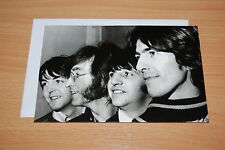 NEW BEATLES CARD & ENVELOPE - BLANK INSIDE. Birthday Thank You Christmas Xmas