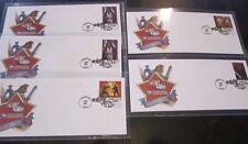 5 eBay Live BOSTON Star Wars Commemorative Stamps on Envelopes 41 Cent Hard to f