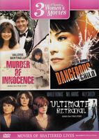 3 Classic Women s Movies (Murder Of Innocence  New DVD