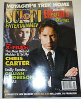 Sci-Fi TV Magazine David Duchovny Chris Carter November 1998 110514R1
