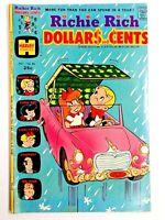 Vintage 1974 RICHIE RICH DOLLARS and CENTS  #64 comic book Harvey Comics