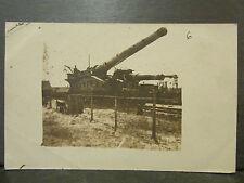 cpa photo guerre militaire canon de 340